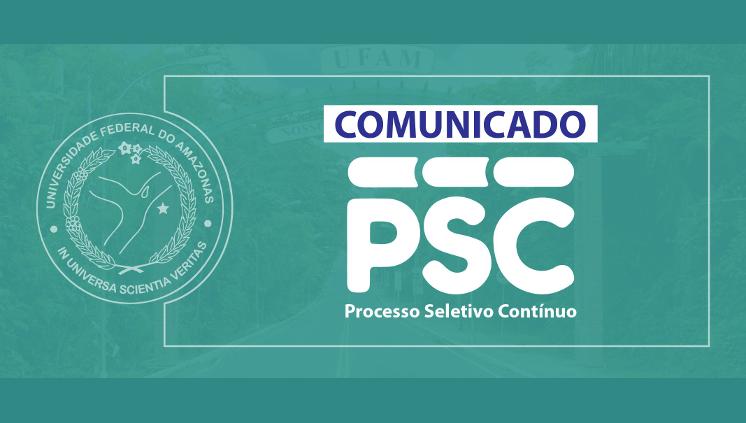 Comunicado PSC
