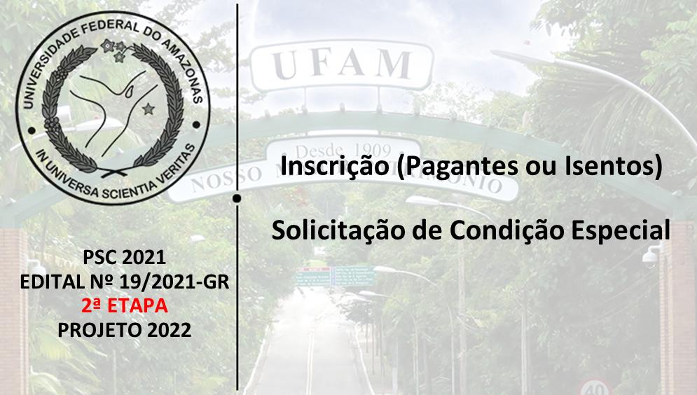PSC2021 - Edital 19/2021 - 2ª ETAPA - PROJETO 2022